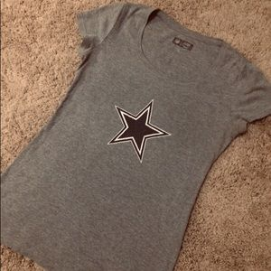 Dallas Cowboy Women's Fitted T-Shirt - S